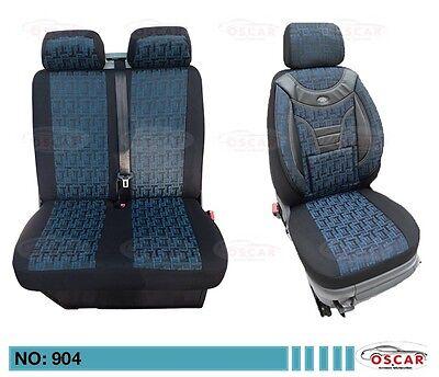 MAß Schonbezüge Sitzbezüge Sitzbezug  VW Crafter 1+2 Sitzer   904