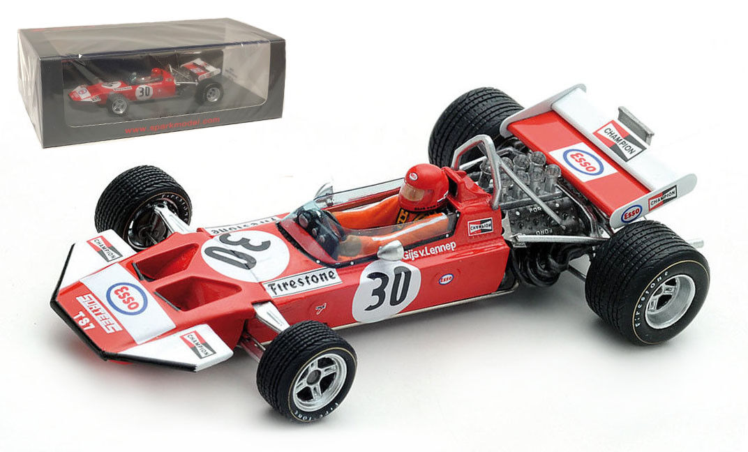SPARK S5402 Surtees TS7  30 Dutch GP 1971-Gijs Van Lennep échelle 1 43