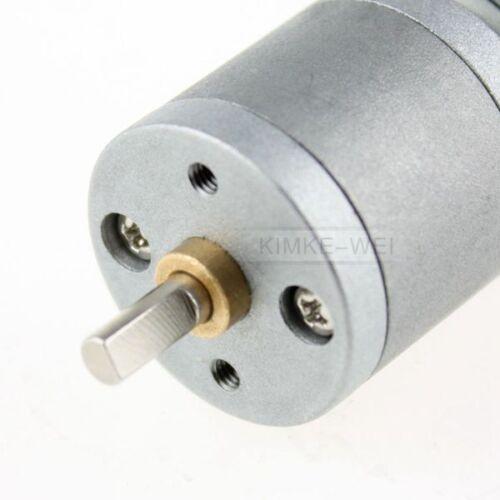 6V DC 60RPM High Torque Electric Gear Box Motor