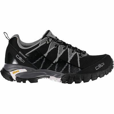 Diligente Cmp Trekking Scarpe Outdoorschuh Tauri Low Trekking Shoe Wp Nero Impermeabile-mostra Il Titolo Originale