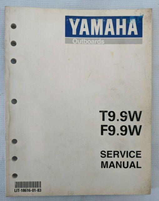 1997 Yamaha Outboard Marine T9 9w  F9 9w Factory Service