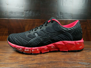 mens red asics
