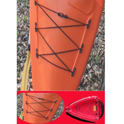 50//30//10pcs Kayak Canoe Pad Eye Deck Loops Tie Downs Nylon Bungee Eyelets