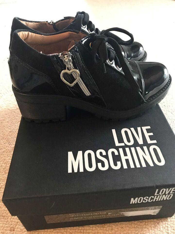 Støvler, str. 37, Love Moschino