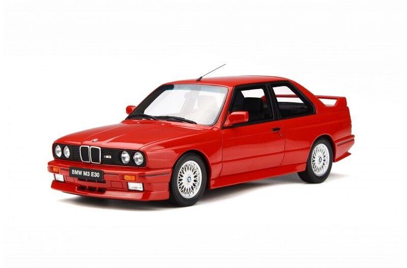 Otto Mobile  BMW E30 M3 1989 1 18 Brilliant rouge  le magasin