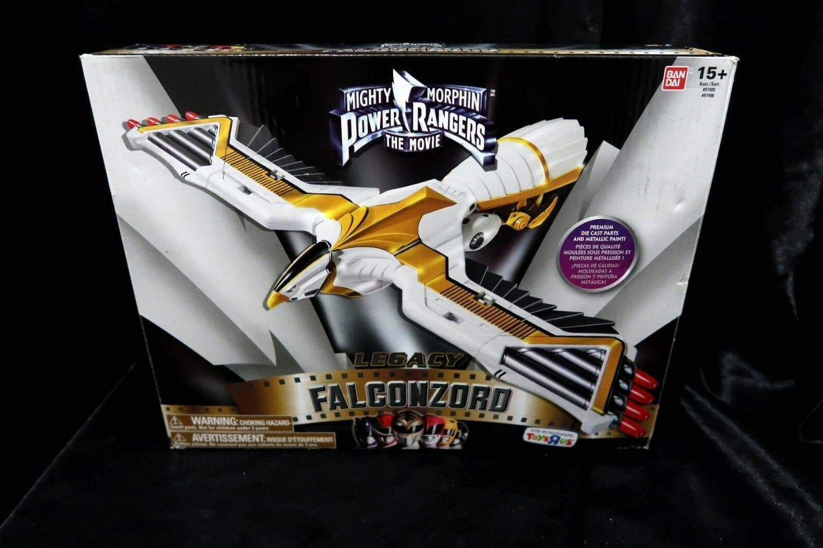 Mighty Morphin Power Rangers The The The Movie Legacy Ninja Falconzord Exclusive d85aef