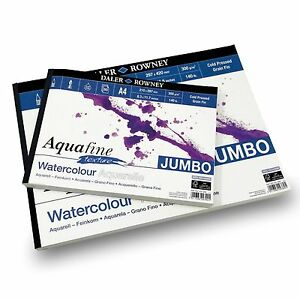 Daler-Rowney-Aquafine-Textured-Pad-300gsm-50-Pages-A3-A4-Made-in-England
