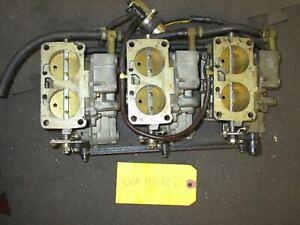 1991 135-200hp Mercury Carburetor Set [3308-813682 C] w/Fuel Pump
