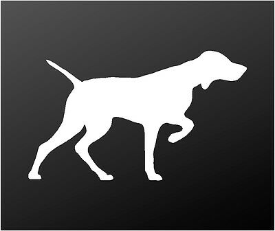 V07 Hungarian Pointer Dog Sign Decal Vizsla on Board Car Window Sticker