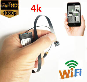 1080p  HD wireless network spy WIFI IP mini hidden Pinhole camera recorder DVR