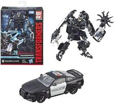 Transformers Studio Series 28 Deluxe Class Movie 1 Barricade Action Figure Hasbro E3700AS00