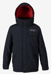 Brand-New-2019-Boys-Burton-Dugout-Snow-Jacket-True-Black