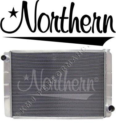 Welded Aluminum 2-Row Radiator GM Chevy 19 x 26 Race Pro IMCA Northern 209675