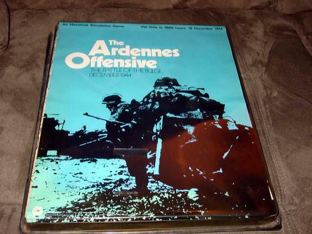 SPI 1973 - THE  ARDENNES OFFENSIVE gioco - Battle for the Ardennes Dec 44 (PUNCH)  negozio outlet