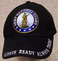 Embroidered Baseball Cap Military Army National Guard 1 Hat Size Fits All