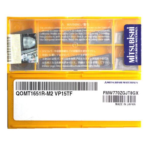 MITSUBISHI QOMT1651R-M2 VP15TF Carbide Inserts CNC.