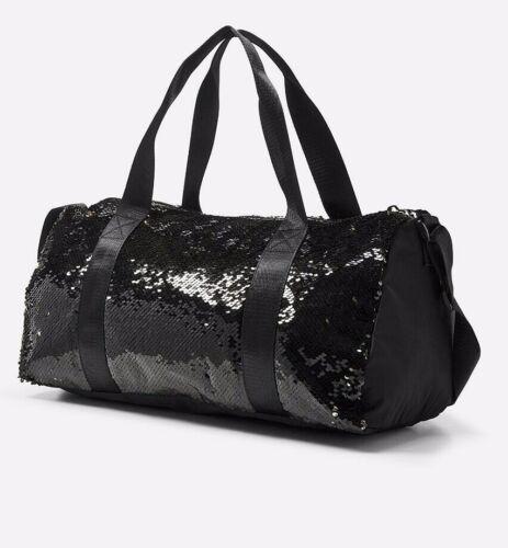 NWT Justice Girl Gymnast Flip Sequin Duffle Bag Tote Bag Gymnastics Christmas