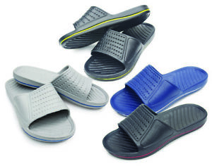 Mens SlipOn Sport Slide Sandals Flip Flop Shower Shoes Slippers House Pool 2020