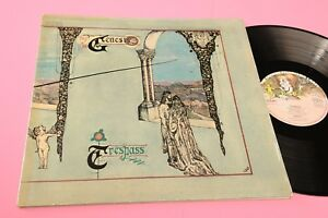 Genesis LP Trespass Germany 1970 EX Gatefold Laminated Cover