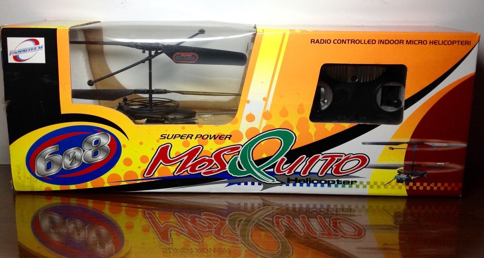 FASSITECH 608 608 608   SUPER energia MOSQUITO HELICOPTER 5223a9