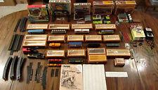 Vintage Train Lot -- Tyco, Plasticviille, Atlas -- cars, track, sets & more