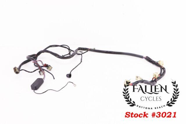 3021 genuine oem harley-davidson wiring wire harness main 69558-92 *video  for sale online  ebay