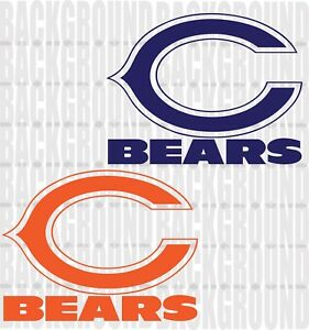 Prime Details About 2 Chicago Bears Cornhole Decals Large 14X10 75 Bean Bag Toss Sticker Baggo Alphanode Cool Chair Designs And Ideas Alphanodeonline