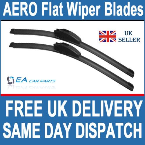 FIAT STILO 2001-2006  EA AERO Flat Wiper Blades 22-19