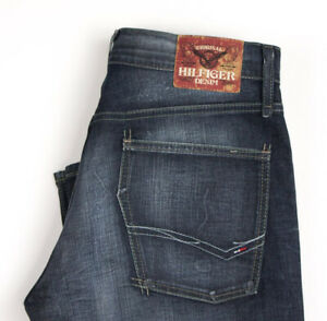 Tommy Hilfiger Hommes Woody ODS Extensible Jambe Droite Jean Taille W31 L32