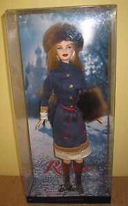 RUSSIA BARBIE DOLL DOLLS OF THE WORLD PINK LABEL BLONDE R4488 MATTEL