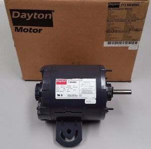 DAYTON 3K386 Motor,1//3 1//9 HP,1725//1140 RPM,115 V