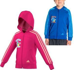 Adidas Disney Monsters Sweat Jacke Mädchen+Jungen