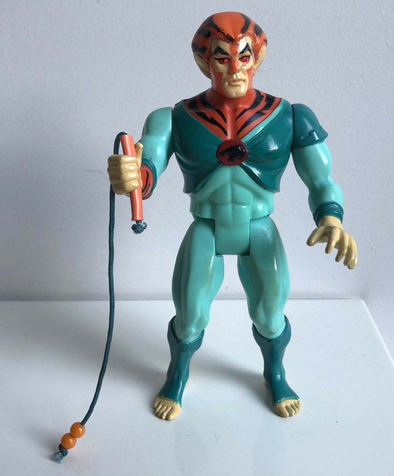 THUNDERCATS Old Tygra 100% Complete With Bolo Whip Working Arm Action RARE