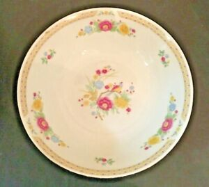 Crown-Ming-Fine-China-Bird-Of-Paradise-ROUND-VEGETABLE-SERVING-BOWL