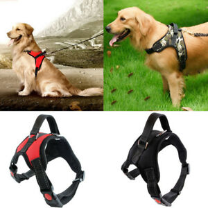 No Pull Adjustable Dog Pet Vest Harness Quality Nylon Small/Medium/Large/XL/S/M