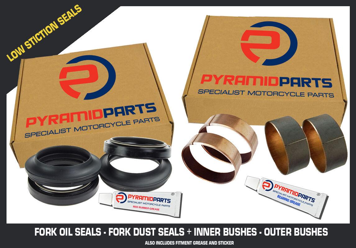 Fork Seals Bushes Full Suspension Kit for Honda VFR750 88-93