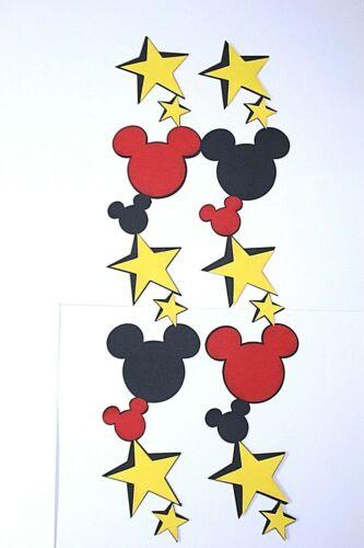 DISNEY Vacation Scrapbooking Border Scrapbook Creative Premade Minnie Mickey