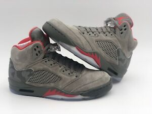 824539f8120d Nike Air Jordan 5 Retro Reflective Camo Dark Stucco 136027 051 HTF ...