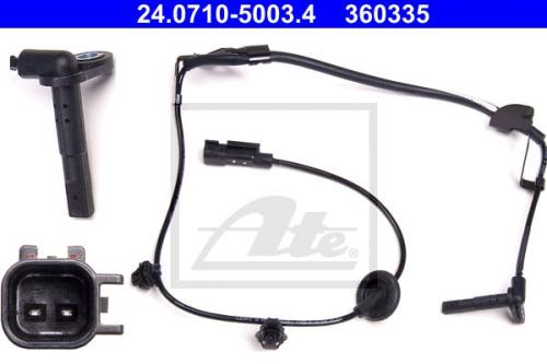 JAPANPARTS ABS Sensor Raddrehzahlfühler ABS-174
