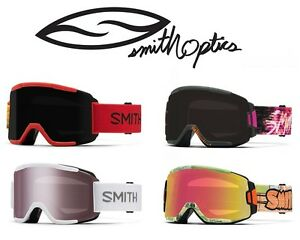 ski goggle brands  AUTHENTIC SMITH OPTICS SQUAD SNOW/SKI GOGGLE MULTIPLE COLORS ...