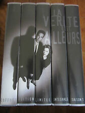 X FILES INTEGRALE SAISON 1 EDITION LIMITEE 5 VHS