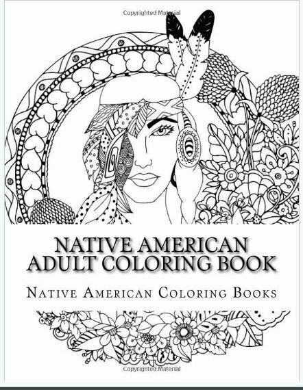 - Native American Adult Coloring Book By Native American Coloring Books  (2017, Trade Paperback) For Sale Online EBay