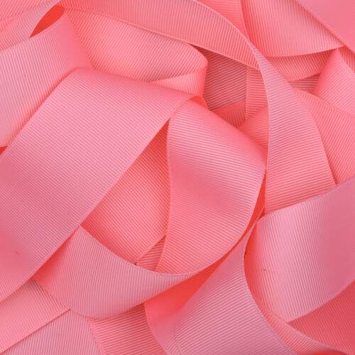 Grosgrain Ribbon in 64 Plain Solid Colours Baby Blue Baby Pink Baby Yellow