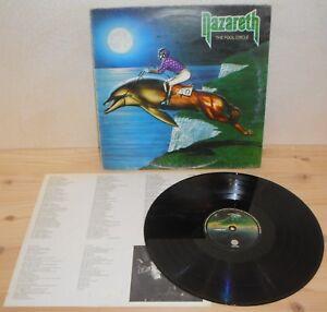 LP-NAZARETH-The-fool-circle-Vertigo-80-ITALY-1st-ps-hard-rock-inner-VG
