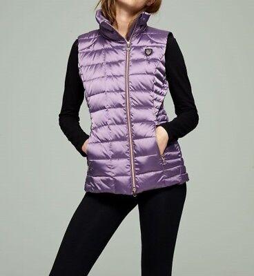 NEW Emporio Armani EA7 Moutain Waistcoat Vest Down Grape Womens Size M RRP  £190 a4c02cf4d7