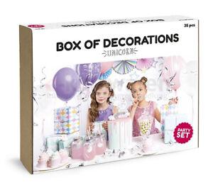 Einhorn Set Geburtstag Dekoration Party Deko Dekoration Kinder Ebay