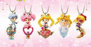 Bandai Sailor Moon Twinkle Dolly 4 Porte-clés Charme Figure Ensemble De 5