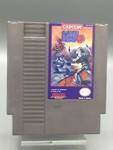 AUTHENTIC-Mega-Man-3-NES-Nintendo-Entertainment-System-CLEANED-amp-TESTED