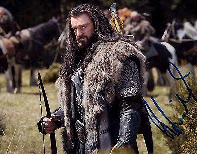 Richard Armitage Autographed 8 x 10 The Hobbit Photograph Thorin COA