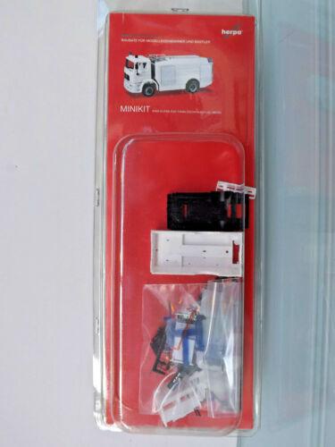 NEU in OVP Herpa 013567 MiniKit 1:87 weiß MAN M 2000 EVO Tanklöschfahrzeug